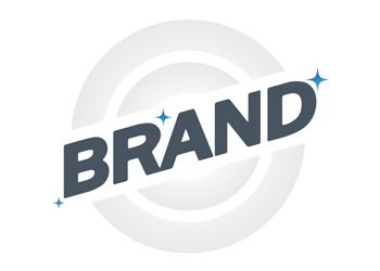 A circle with the word 'Brand' through the middle